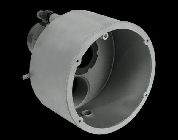 Противоток FLUVO XANAS c сенсорным управлением 2