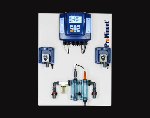 Станция дозирования BEHNCKE Splash Control Pro + pH/без хлора  для частных бассейнов с перистальтическими насосами 1,6 л/час 1