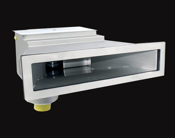 Скиммер BEHNCKE тип В 601 SLIM с углом 3 ° (для стеклопластиковых бассейнов) 1