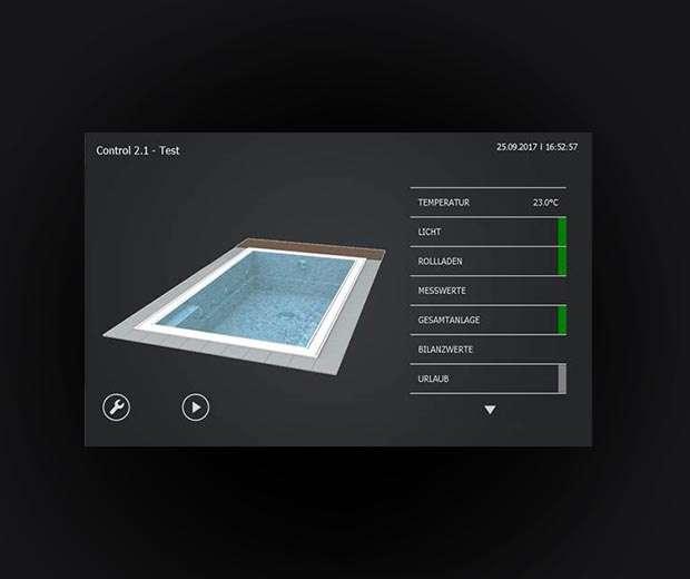 Системы управления бассейнами