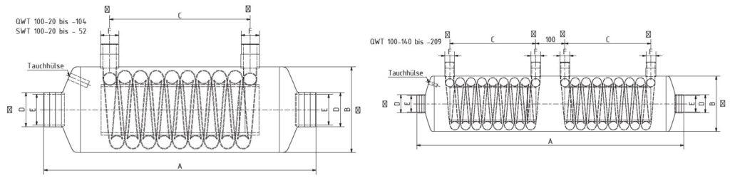 Теплообменник BEHNCKE QWT 100 3