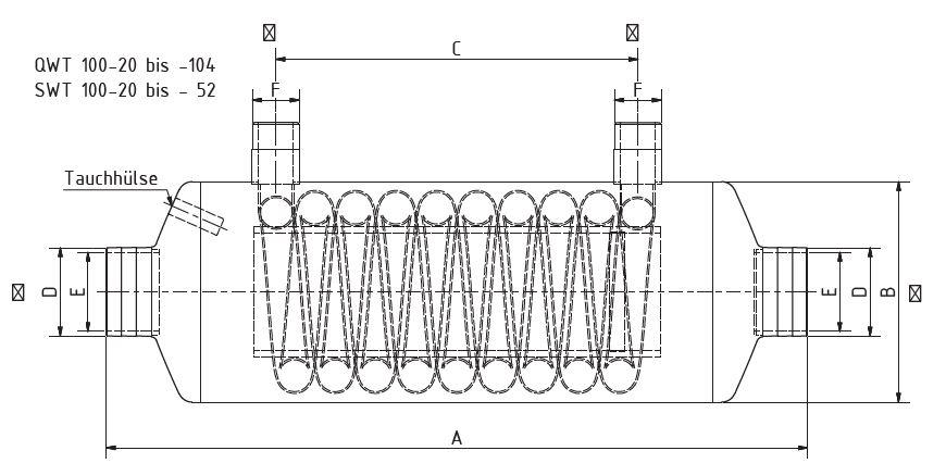Теплообменник BEHNCKE SWT 100 (для пресной воды  и низкотемпературных систем) 3