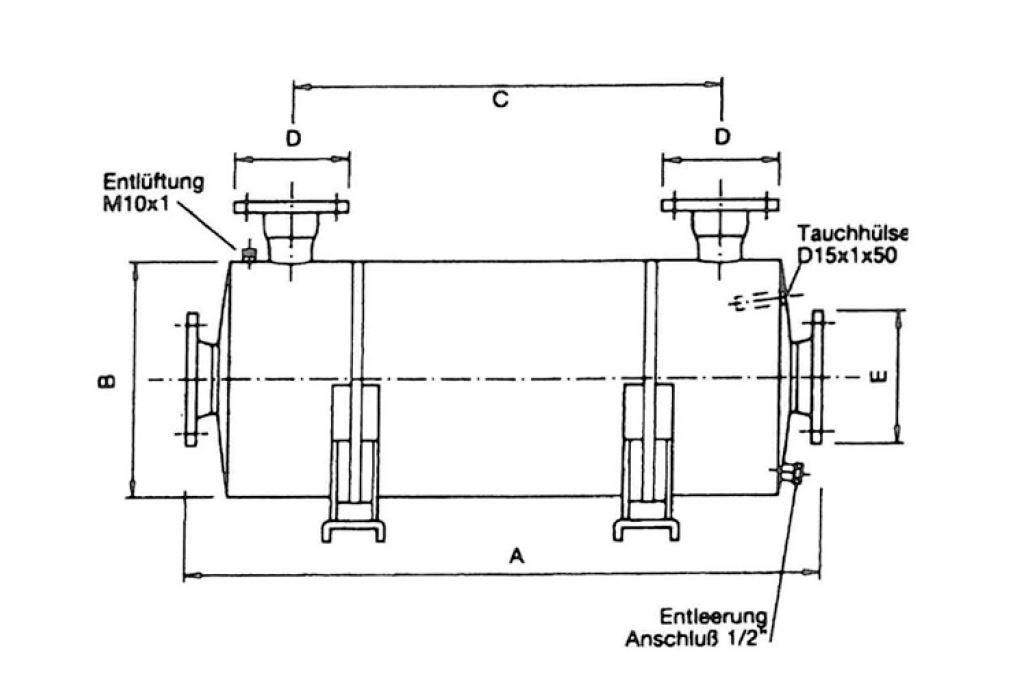 Теплообменник BEHNCKE GIGANT GWT 2000 (для общественных бассейнов) 3
