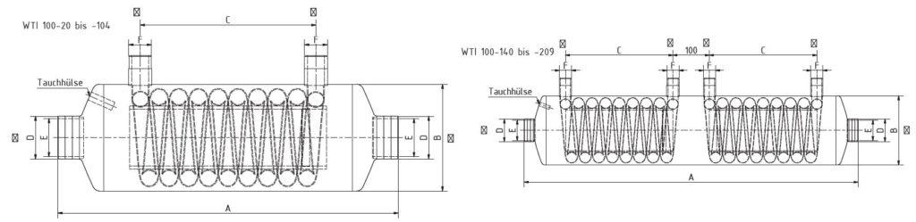 Теплообменник BEHNCKE WTI 100 3