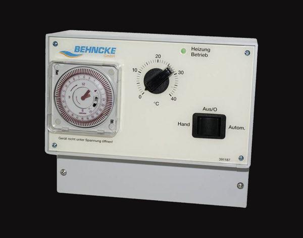 Блок управления скиммерными бассейнами Basic II (с термостатом) 1