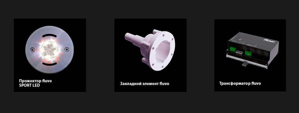Подводные прожектора FLUVO NT SPOT LED, матовый, DN 105 4