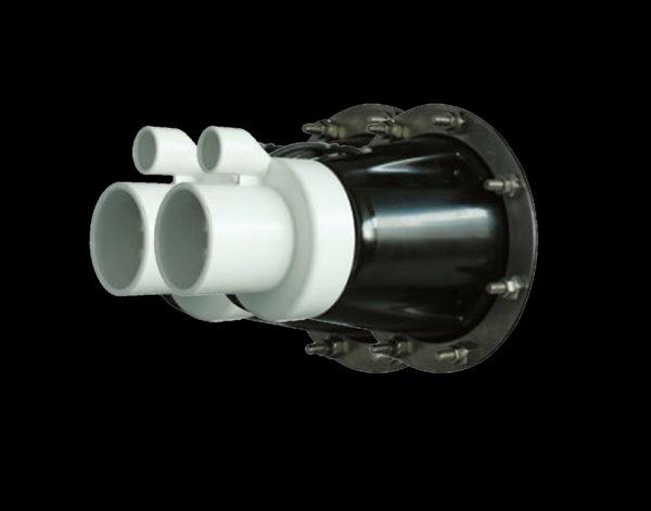 Противоток FLUVO X-jet 160 (двухструйный) 8