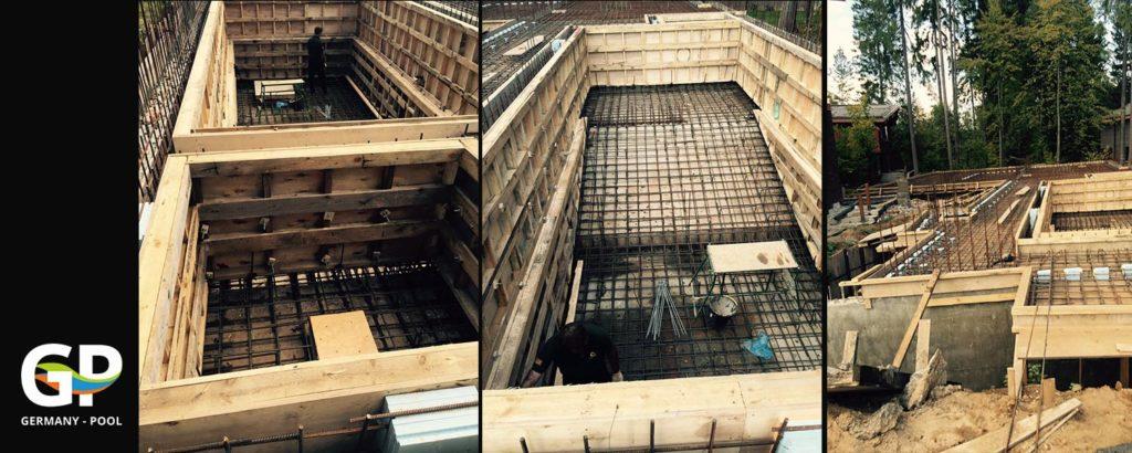 Строительство бассейнов по немецким технологиям 3