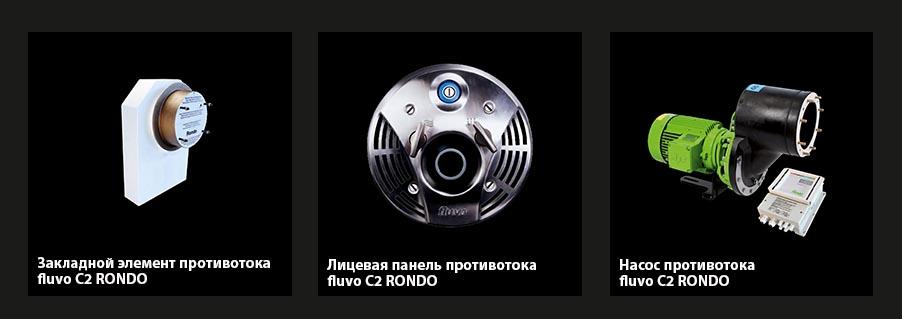 Противоток FLUVO С2 rondo (COMPACT) 7