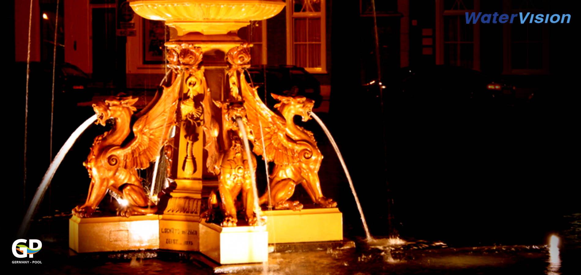 Светодиодное освещение для фонтанов 1