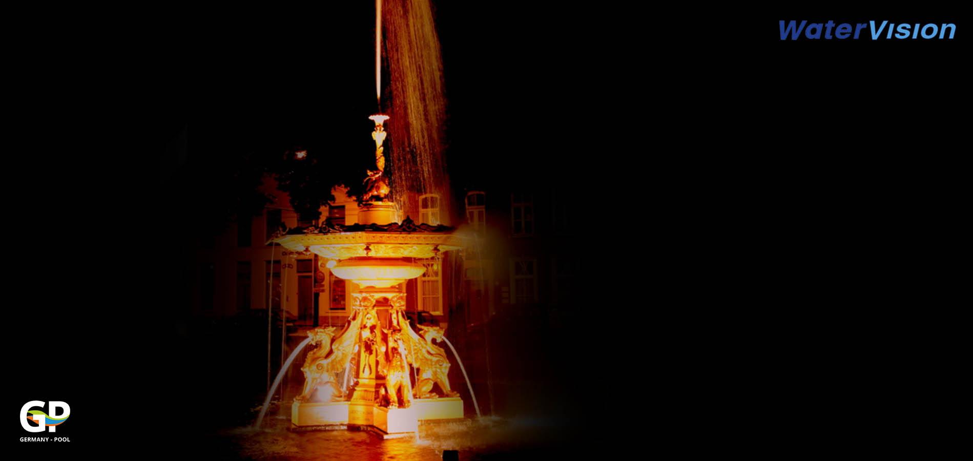 Светодиодное освещение для фонтанов 3