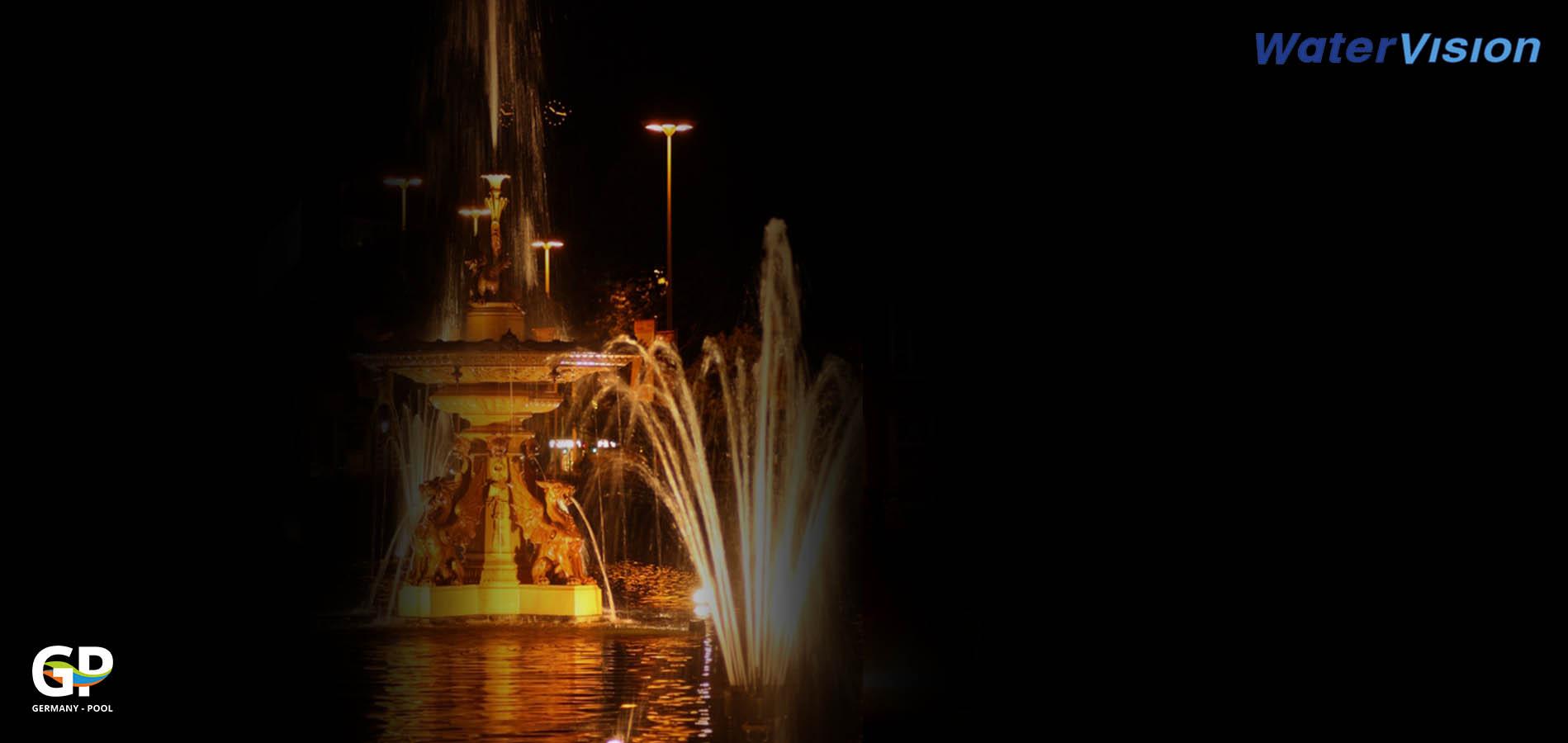 Светодиодное освещение для фонтанов 4