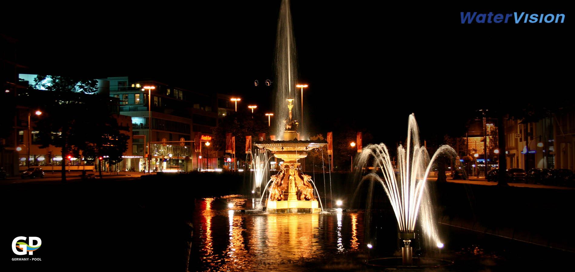 Светодиодное освещение для фонтанов 5