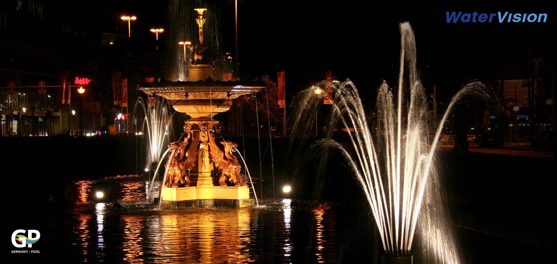 Светодиодное освещение для фонтанов 6