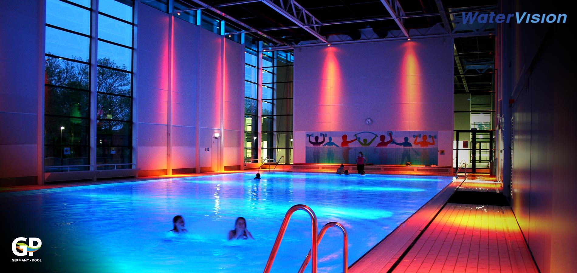 Светодиодное освещение для помещений с бассейнами 1