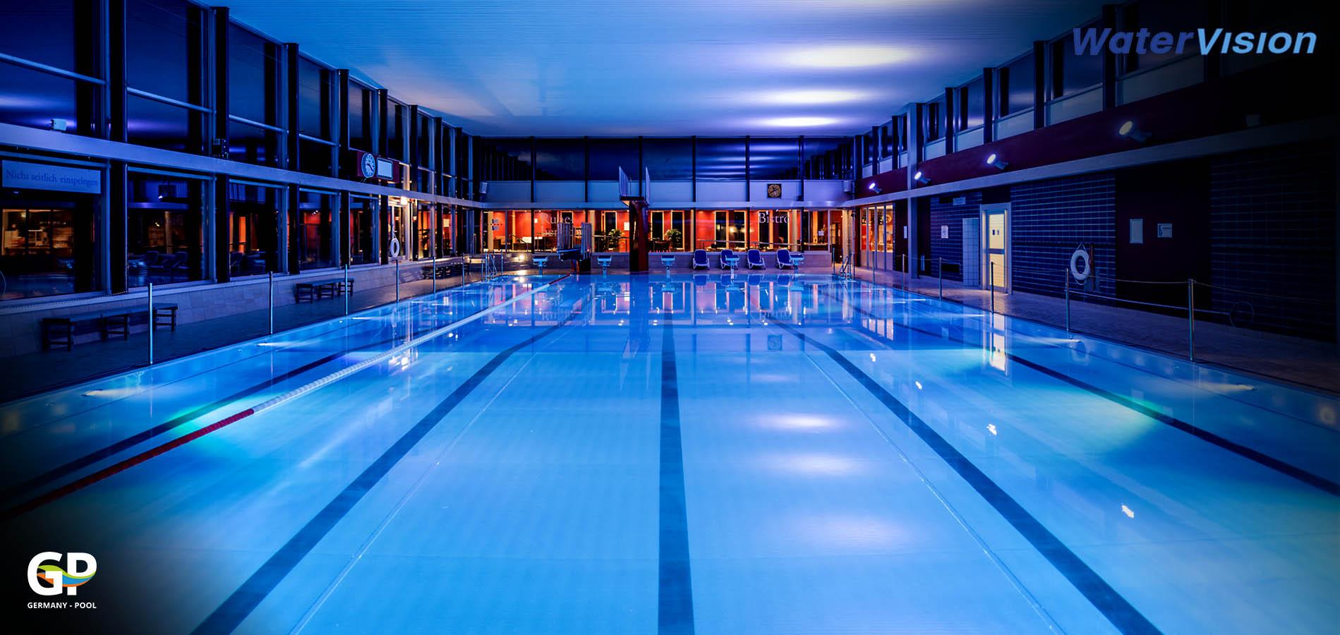 Подводное освещение для бассейнов 2