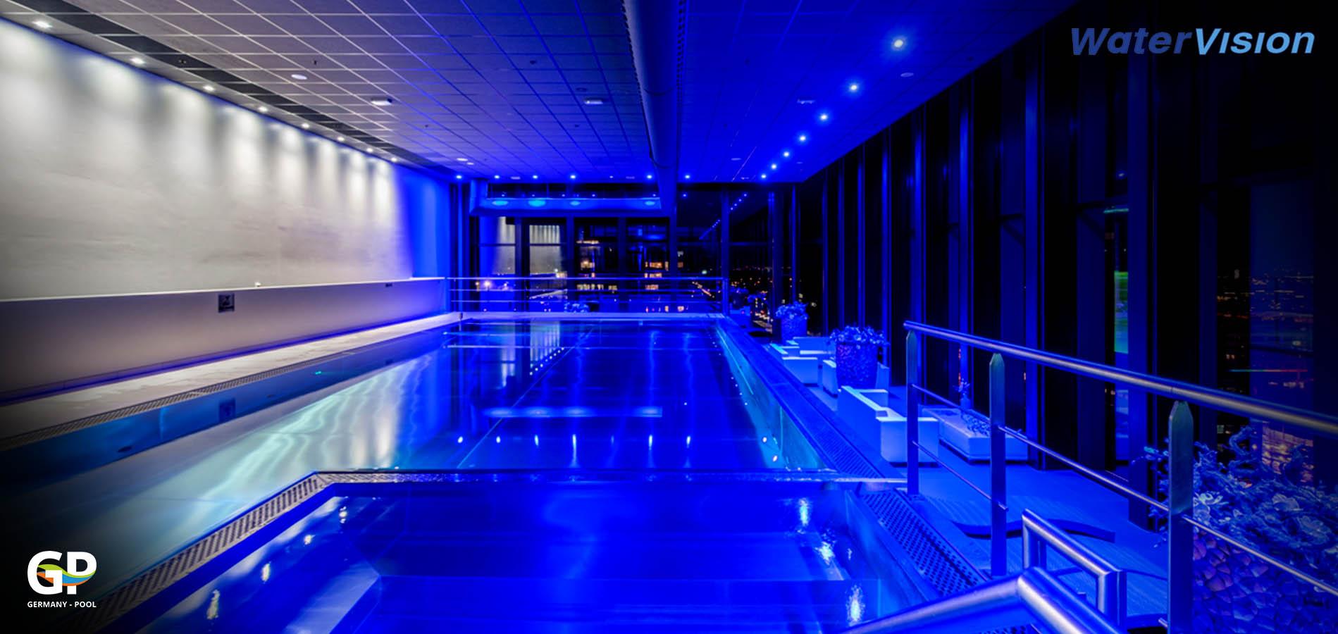 Подводное освещение для бассейнов 3
