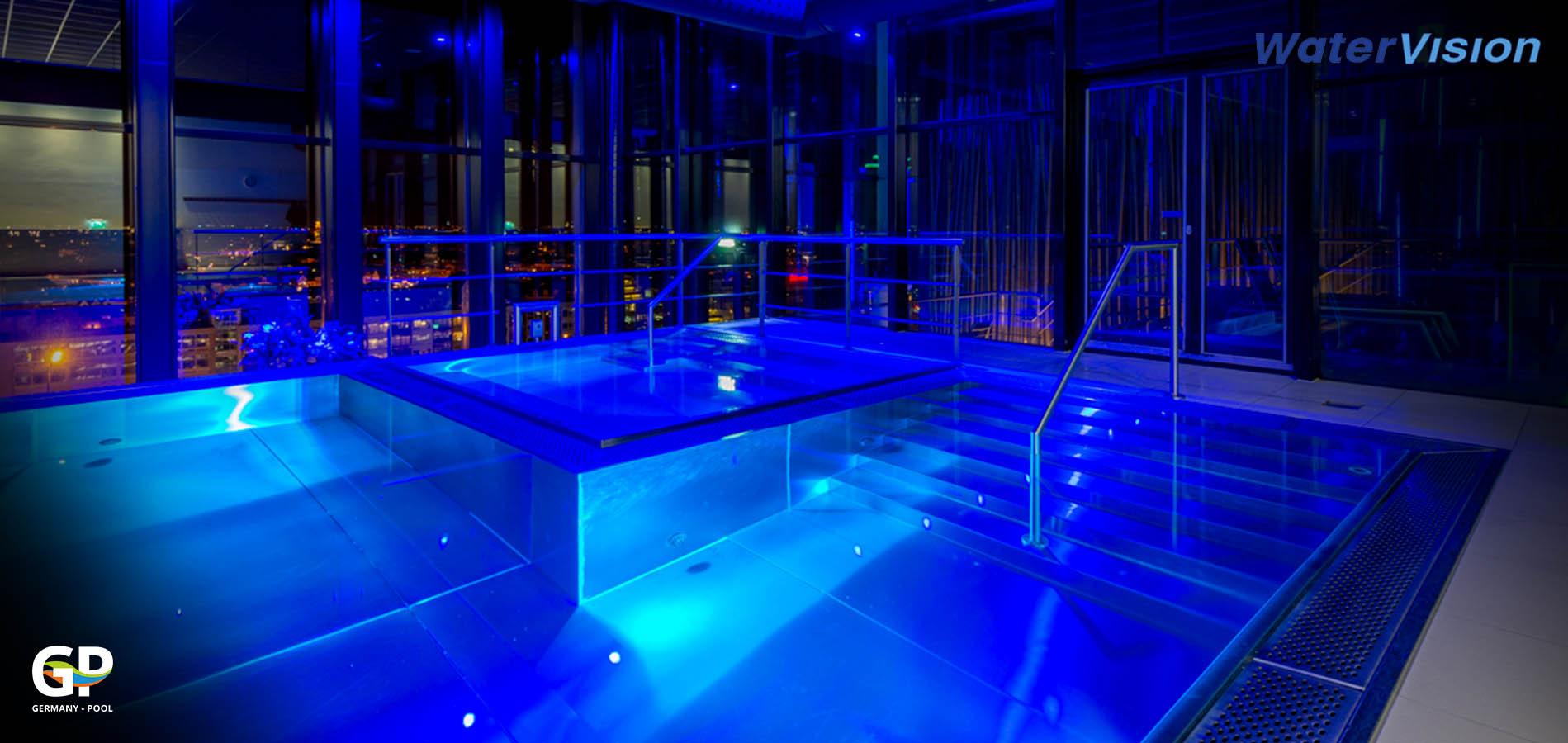 Подводное освещение для бассейнов 4
