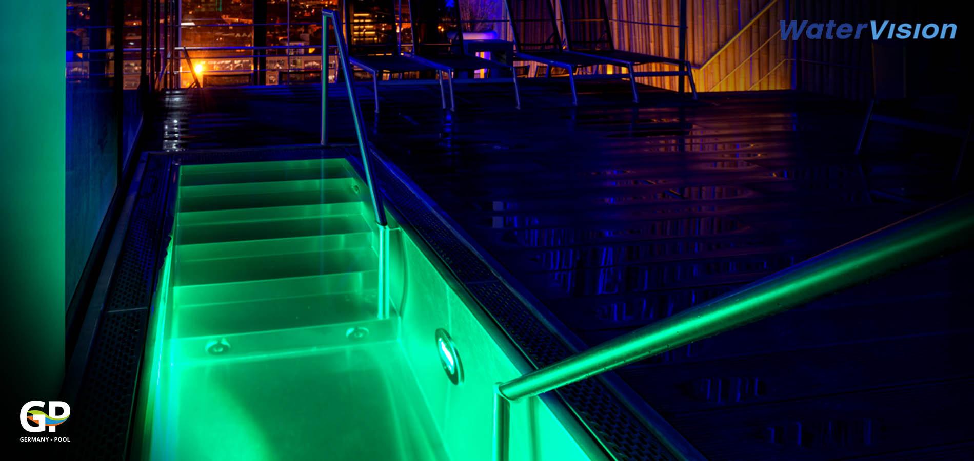 Подводное освещение для бассейнов 5