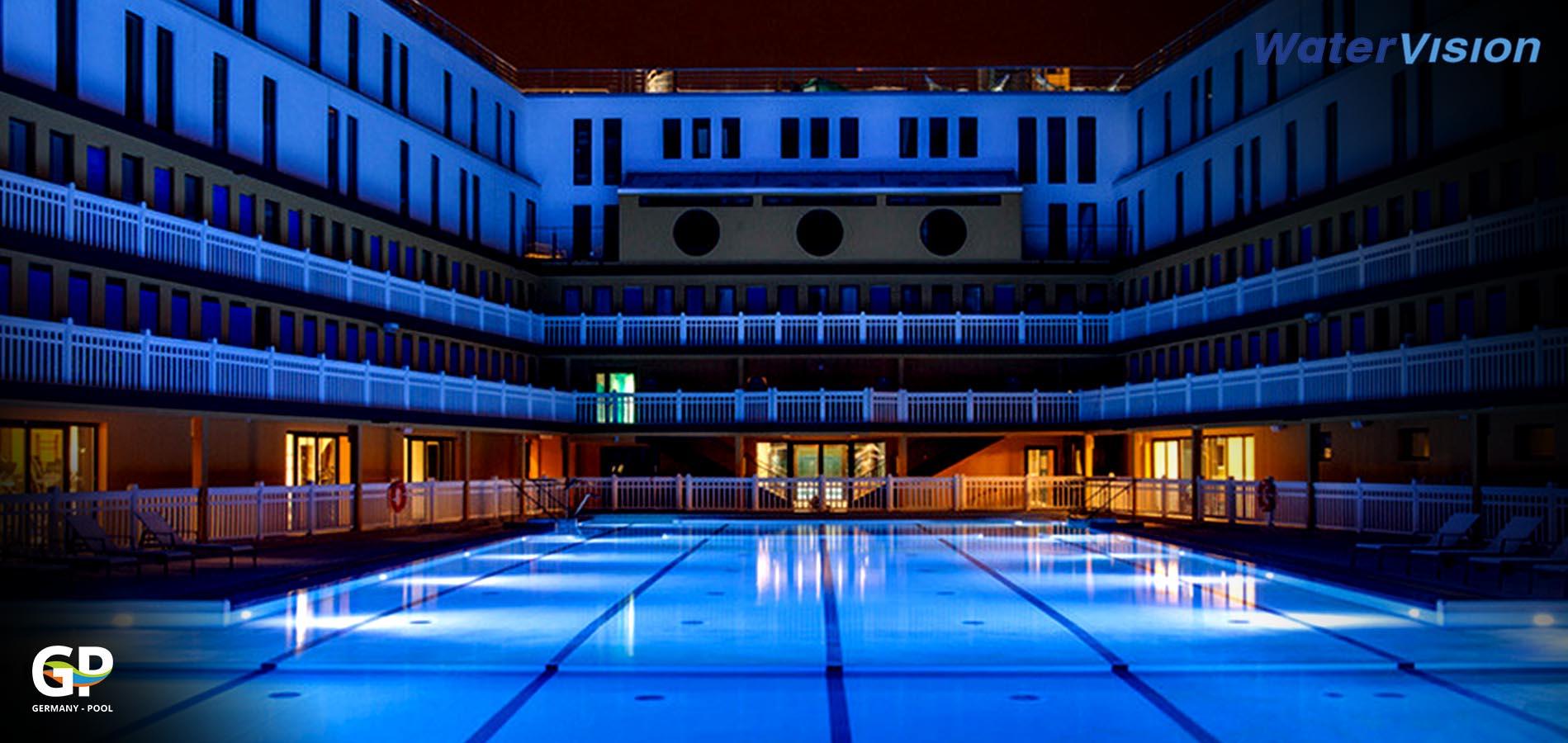 Подводное освещение для бассейнов 6