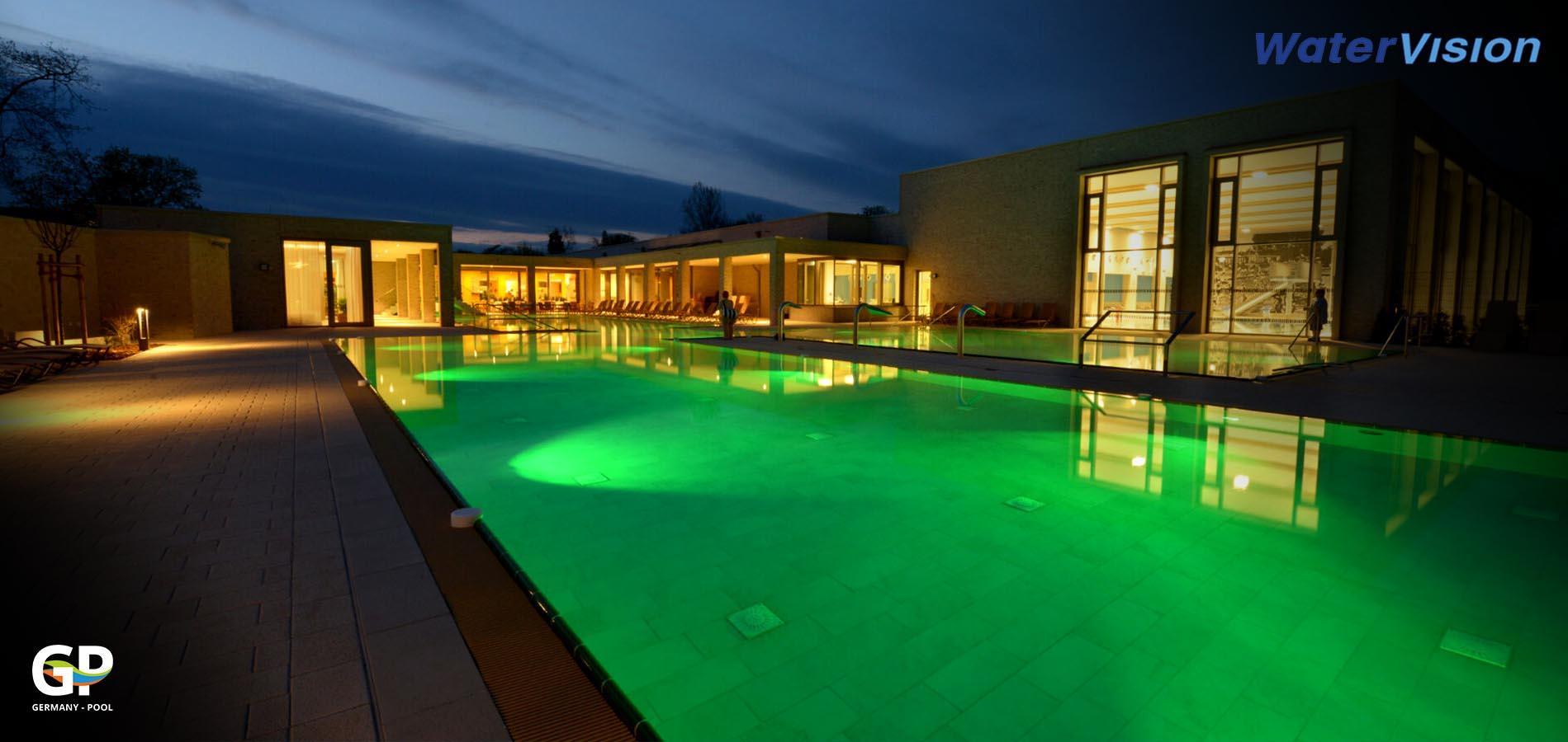 Подводное освещение для бассейнов 7