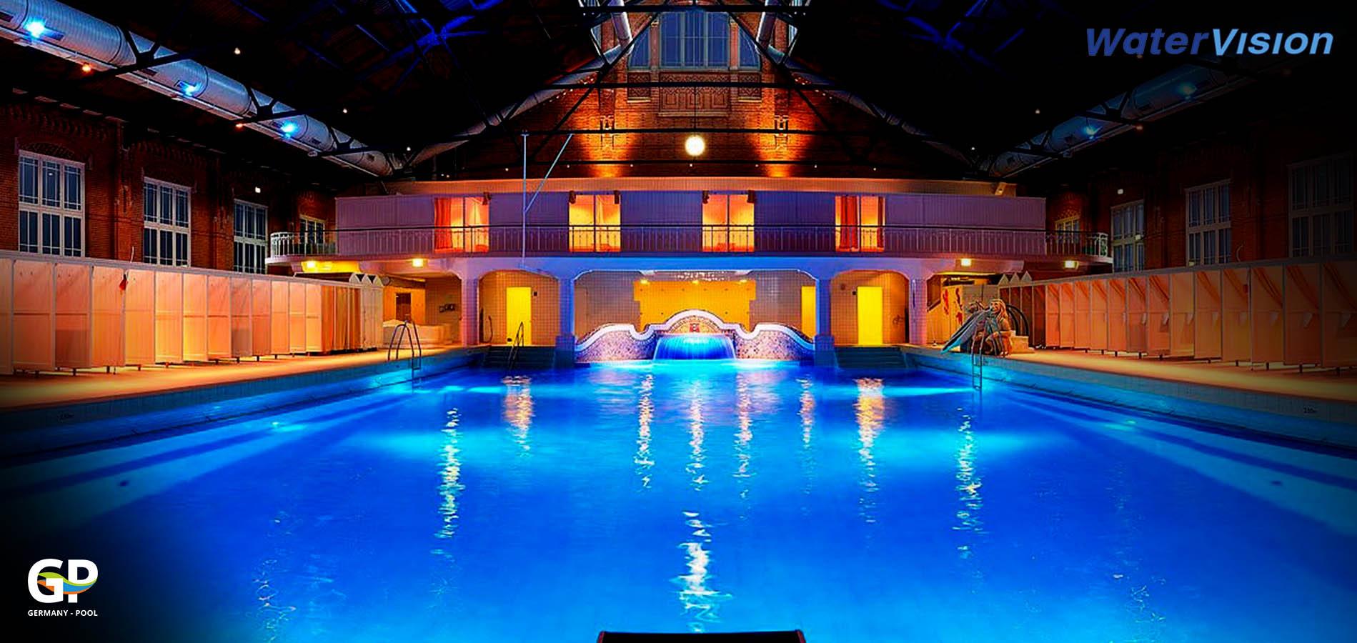 Светодиодное освещение для помещений с бассейнами 13