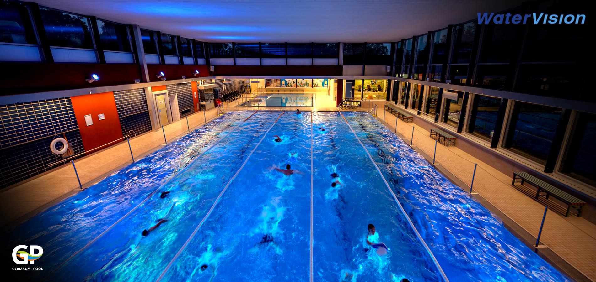 Светодиодное освещение для помещений с бассейнами 2