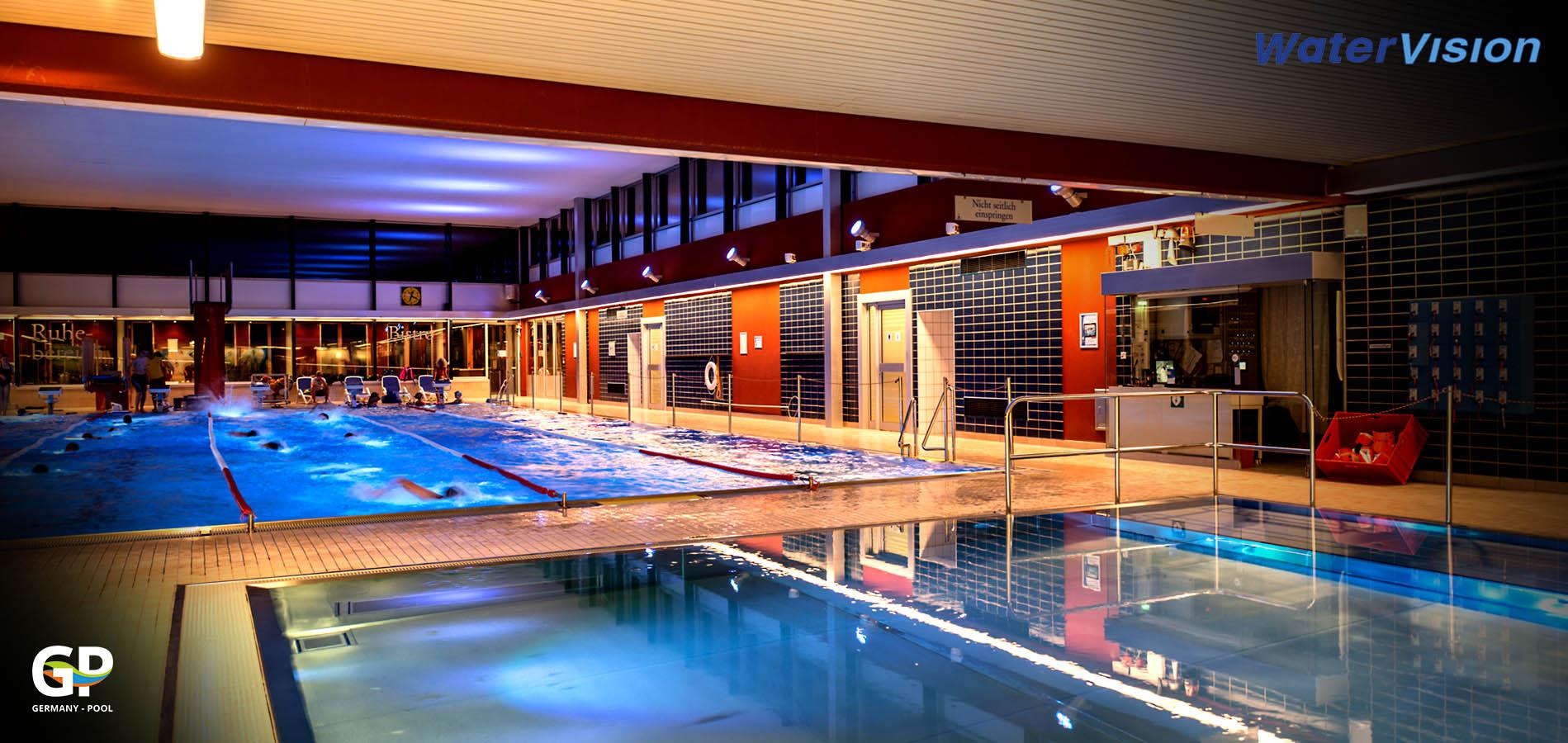 Светодиодное освещение для помещений с бассейнами 3