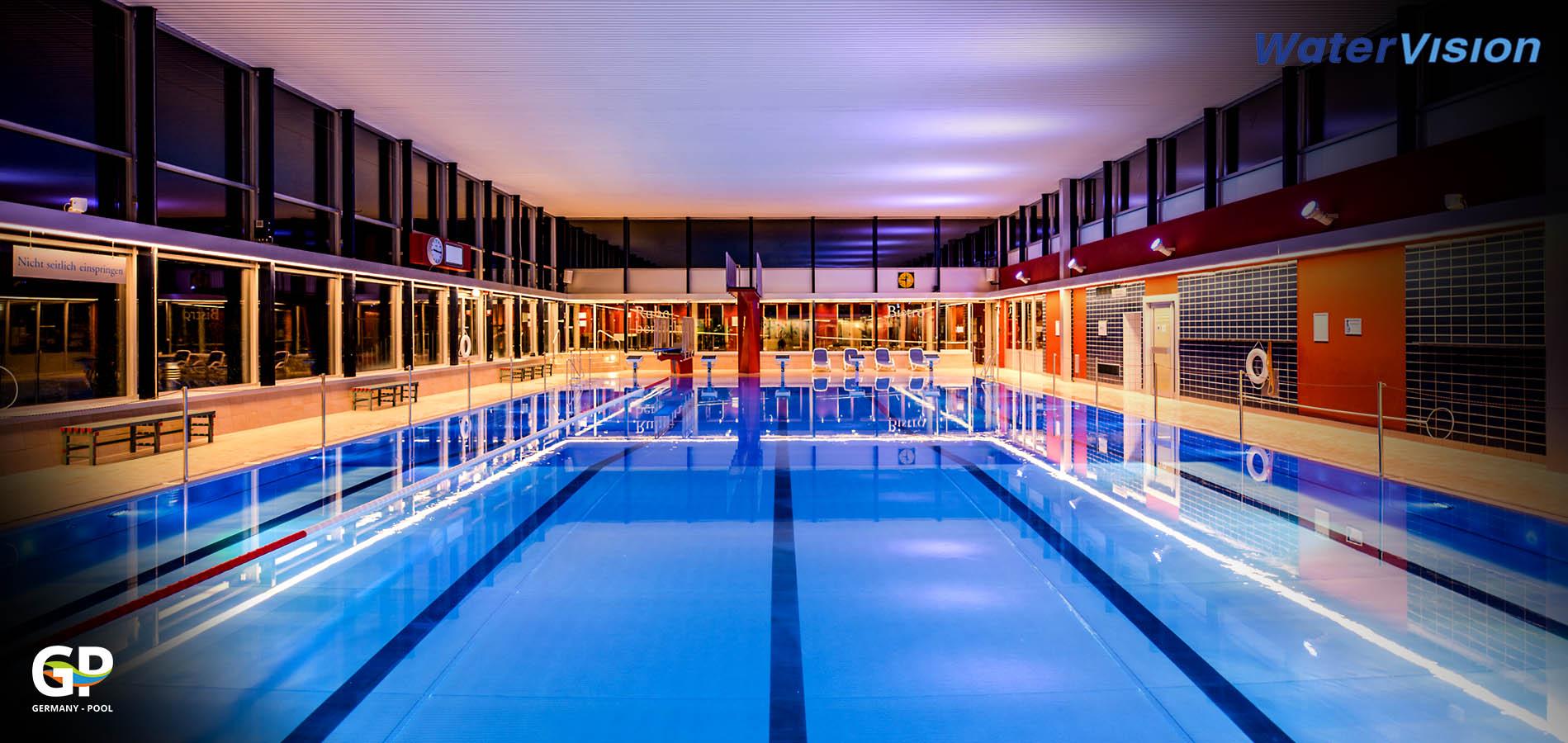 Светодиодное освещение для помещений с бассейнами 4