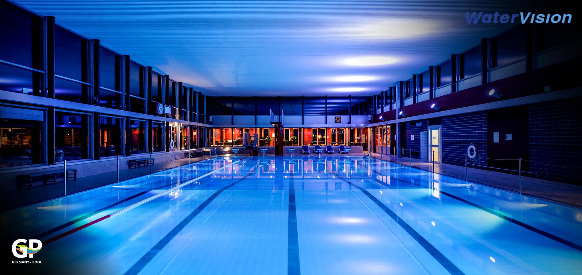 Светодиодное освещение для помещений с бассейнами 5