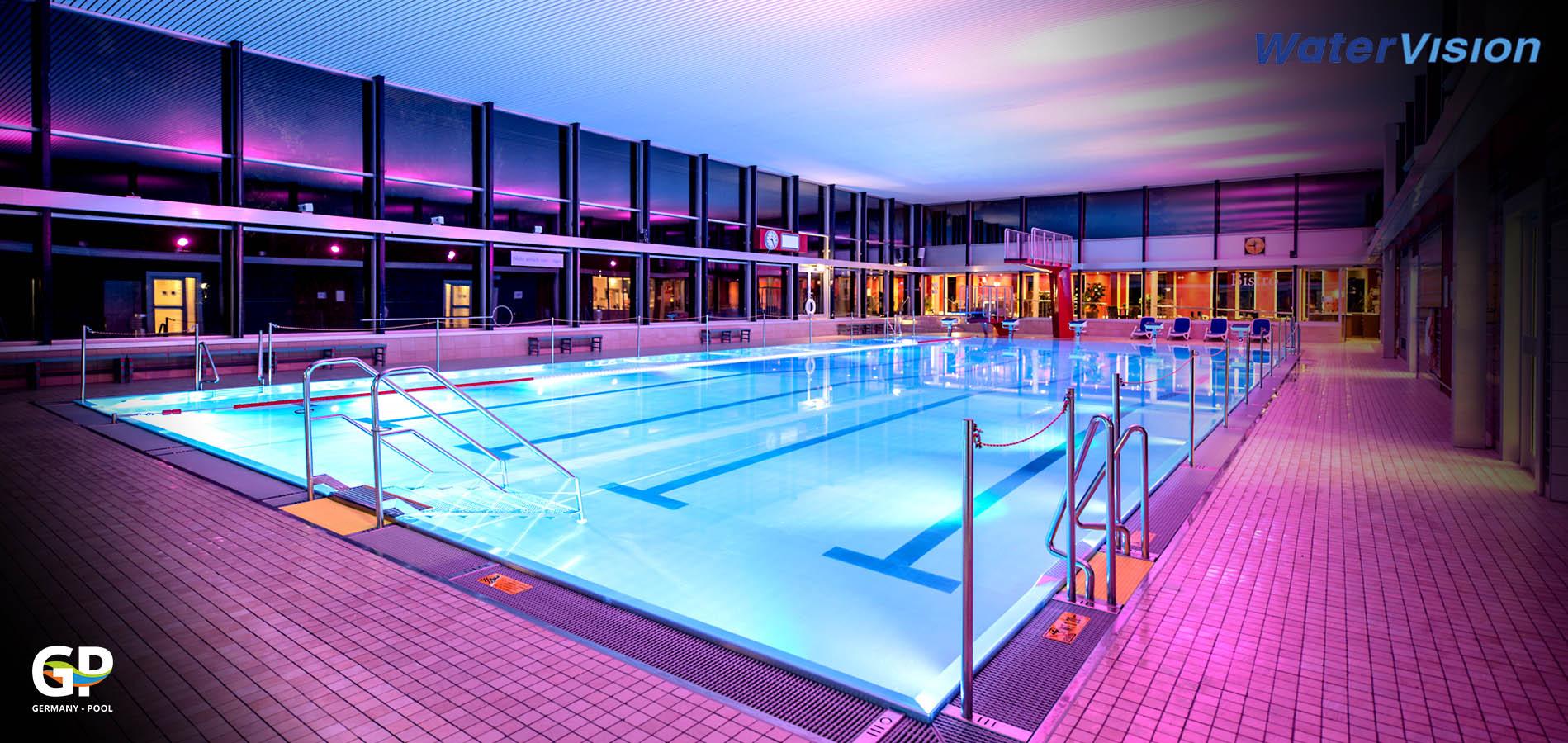 Светодиодное освещение для помещений с бассейнами 6
