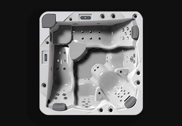 Гидромассажный бассейн Fluidra Evolution 1