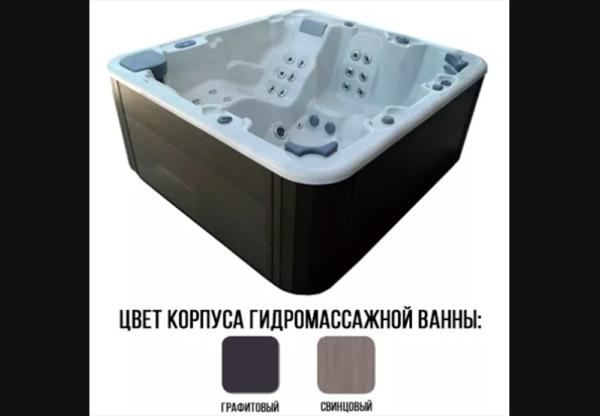 Гидромассажный бассейн Fluidra Select E 5